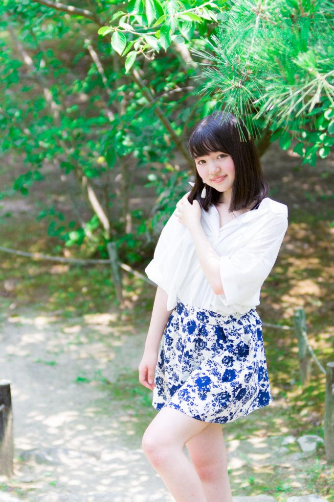 香川県高松市栗林公園でポートレート モデルさんは はるさん 彡第一弾